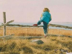 niño a saltando vaya