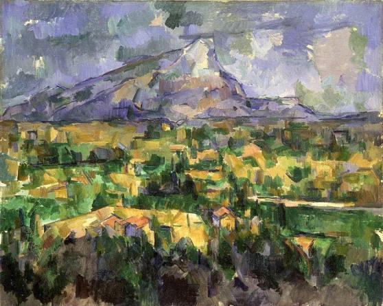 Cezanne. Montaigne Sainte Victoire. 1904